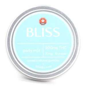 Party Mix 200mg THC (Bliss Edibles)