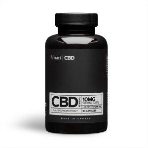 Smart CBD Capsules 10mg caps