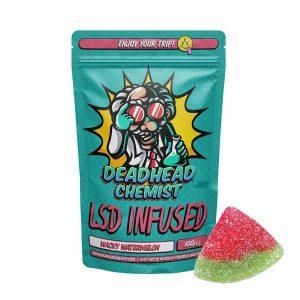 LSD Edible 100ug Wacky Watermelon Deadhead Chemist