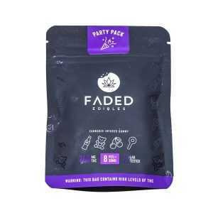 Faded Party Pack Gummies 240Mg Thc