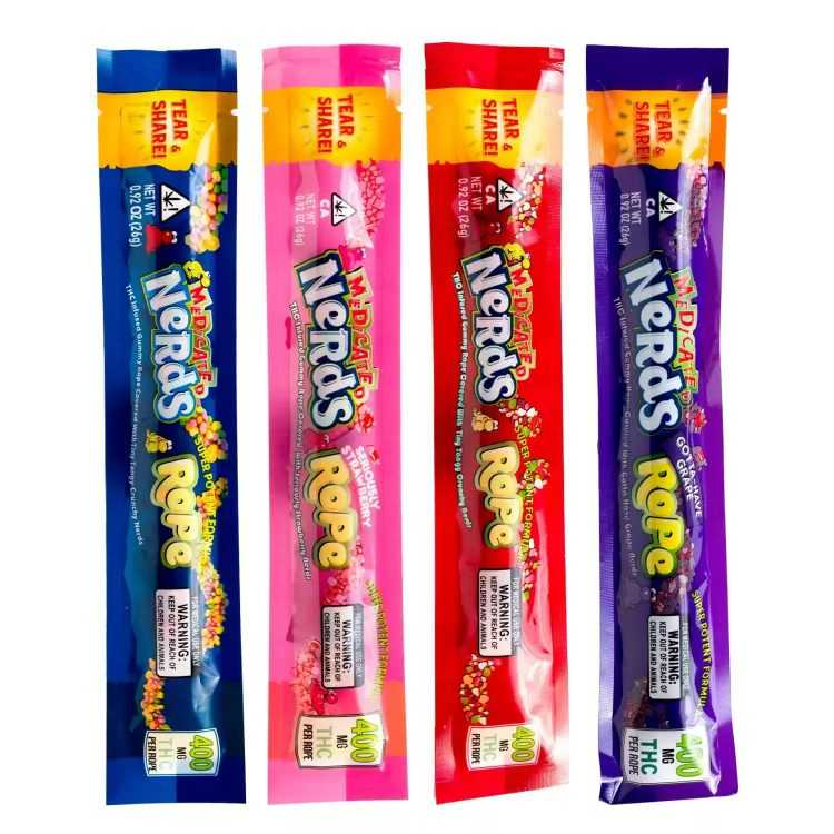 Medicated Nerds Rope Sale Min