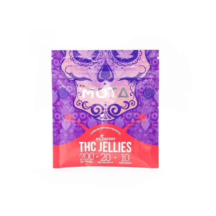 200mg Wildberry THC Jellies (Mota)