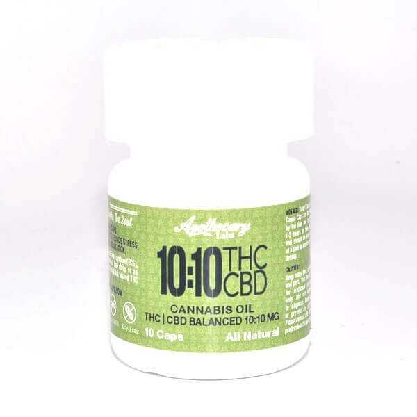 10:10 THC/CBD Canna Caps (Apothecary)