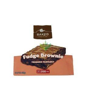 Baked Edibles 200Mg Fudge Browni
