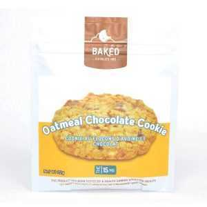 Oatmeal Chocolate Cookie 15mg THC (Baked Edibles)