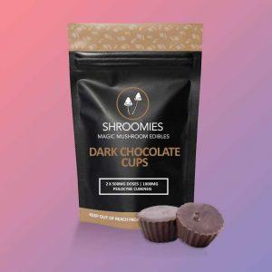 SHROOMIES DARK CHOCOLATE CUPS – 1000MG