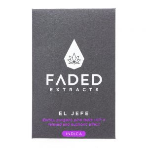 Faded Extracts El Jefe Shatter