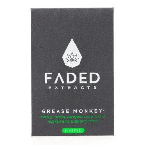 Faded Extracts Grease Monkey Shatter